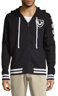 True Religion Hooded Cotton Jacket