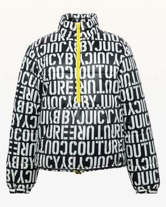 Juicy Couture JXJC Stenciled Juicy Puffer Jacket
