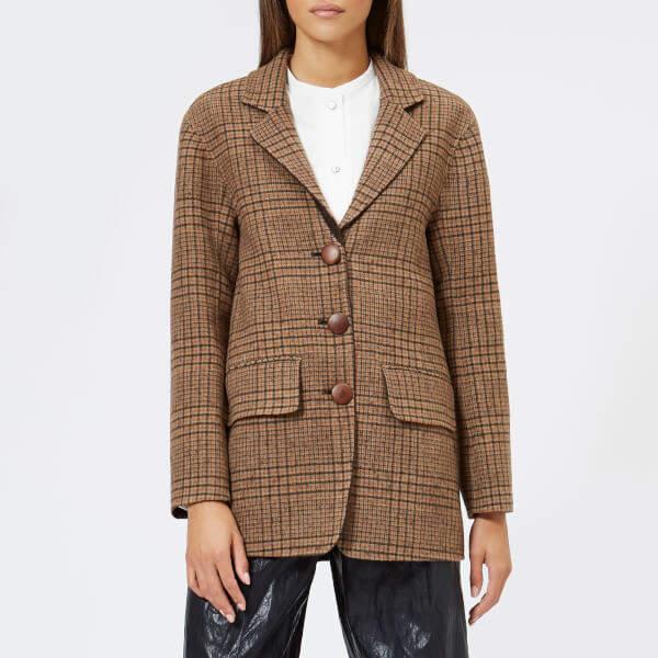 Rejina Pyo Women's Maria Blazer Wool Check