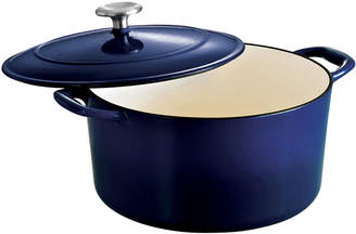 Tramontina Gourmet 6-qt. Enameled Cast Iron Covered Round Dutch Oven