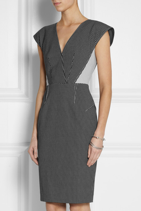 Roland Mouret Indus stretch cotton-blend dress