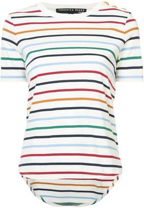 Veronica Beard horizontal stripes T-shirt