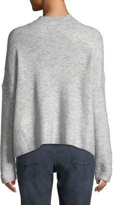 Dex Drop-Shoulder Ribbed Pullover Sweater