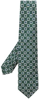 Kiton classic printed tie