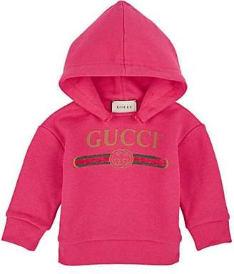 Gucci Infants' Logo-Print Cotton Hoodie - Pink