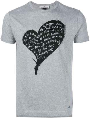 Vivienne Westwood quote heart print T-shirt