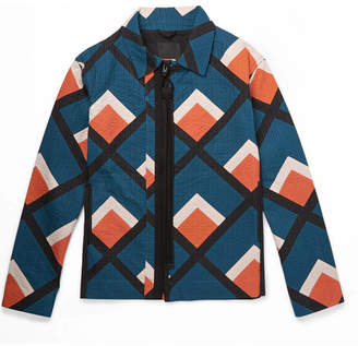 Craig Green Quilted Printed Cotton Jacket