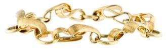 Henry Dunay Textured Ribbon Link Bracelet