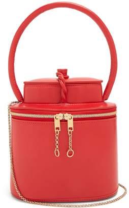 Maison Margiela Replica Tea Container leather clutch bag