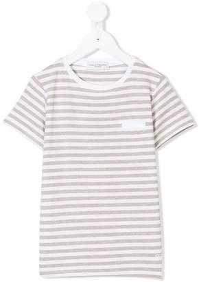 Paolo Pecora Kids striped short sleeve T-shirt