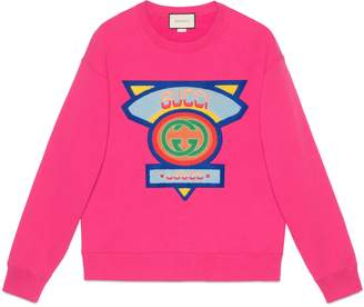 Gucci Sweatshirt with '80s patch