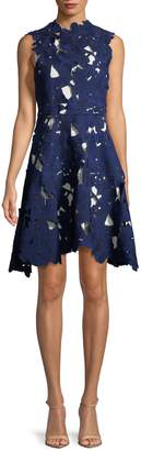 Max Mara Women's Aia Lace Fit-and-Flare Dress