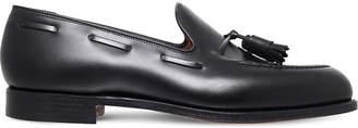 Crockett Jones Crockett & Jones Cavendish leather tassle loafers