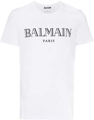 Balmain paris logo t-shirt