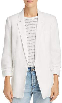 Joie Kishina B Ruched-Sleeve Blazer