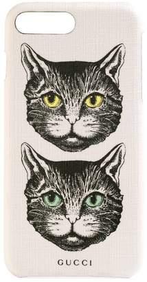 Gucci iPhone 8 Plus case with Mystic Cat