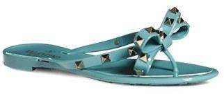Women's Valentino 'Rockstud' Flip Flop $295 thestylecure.com