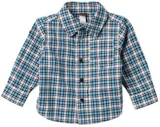 Tea Collection Heath Button Down Shirt (Baby Boys)
