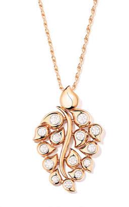 Tamara Comolli Snowflakes Diamond Pendant in 18k Rose Gold