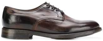 Silvano Sassetti (シルバノ サセッティ) - Silvano Sassetti leather lace-up trainers