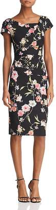 Adrianna Papell Tiffany Floral Sheath Dress - 100% Exclusive