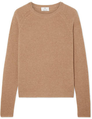 Allude Cashmere Sweater - Camel
