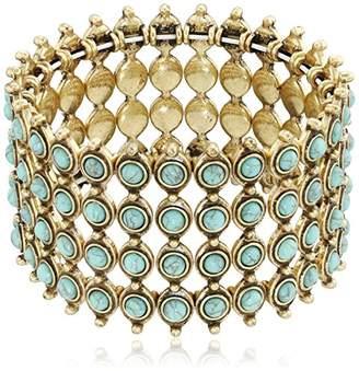 Lucky Brand Turquoise Major Cuff Bracelet