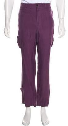 Versace Satin Cargo Pants