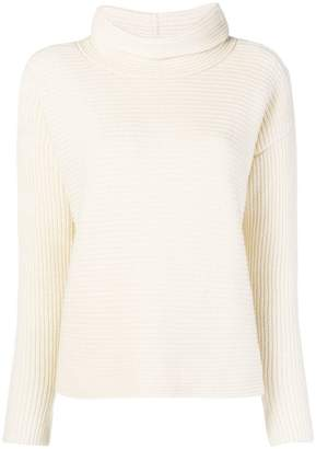 Fabiana Filippi ribbed turtleneck sweater