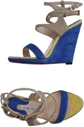 LUCIANO PADOVAN Sandals $327 thestylecure.com