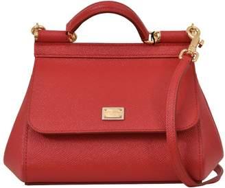 Dolce & Gabbana Red Mini Sicily Bag