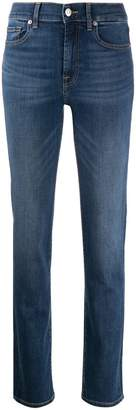 7 For All Mankind slim fit straight-leg jeans