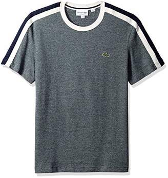 Lacoste Men's Short Sleeve REG FIT Faux Made in France TEE