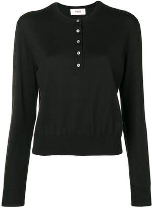 Ports 1961 button down collar jumper