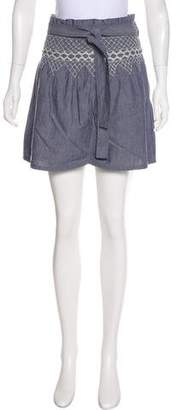 Current/Elliott Embroidery Mini Skirt w/ Tags