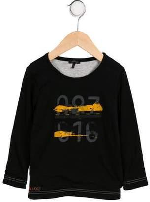 Ikks Boys' Long Sleeve Printed Shirt