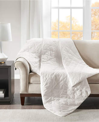 Simmons Deluxe 12lb Quilted Cotton Weighted Blanket Bedding