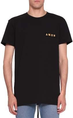 Amen Logo Cotton T-shirt