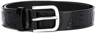 Emporio Armani buckle belt