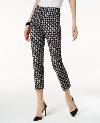 Alfani Printed Cropped Pants, Only at Macy's $64.50 thestylecure.com