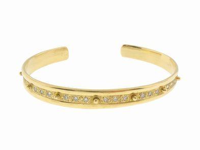 Emily Armenta Diamond Cuff Bracelet