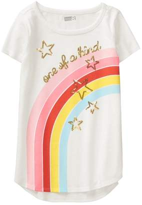 Crazy 8 One Of A Kind Rainbow Tee