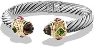 David Yurman Renaissance Bracelet with Semiprecious Stones & Gold