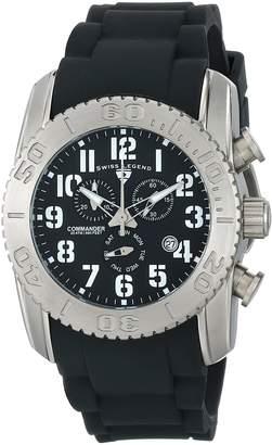 Swiss Legend Men's 11876-TI-01 Commander Analog Display Swiss Quartz Watch