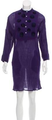 Banjanan Belinda Plissé Dress w/ Tags