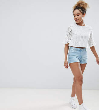 Parisian Petite Denim Shorts