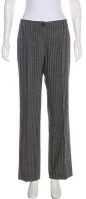 Etro Pinstripe Mid-Rise Pants