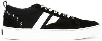 MSGM suede striped sneakers