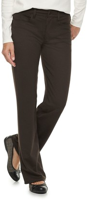 Croft & Barrow Women's Easy Care Bootcut Pants
