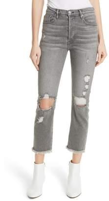 Frame Le Original High Waist Raw Edge Jeans